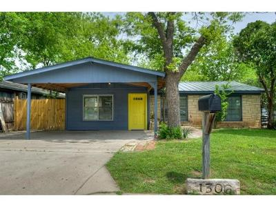 Austin Single Family Home For Sale: 1306 E 52nd St
