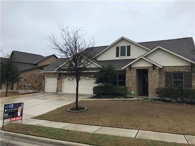 Cedar Park Single Family Home For Sale: 326 Spanish Mustang Dr