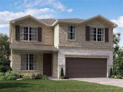 Round Rock Single Family Home For Sale: 2456 Hat Bender Loop