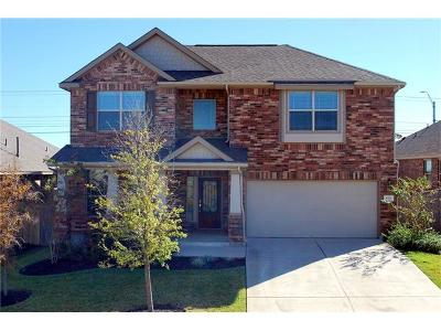 Round Rock Single Family Home Active Contingent: 1927 Autumn Run Ln