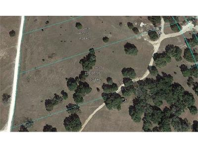 Dripping Springs Residential Lots & Land Pending - Taking Backups: Lot 33 Redemption Way