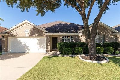 Round Rock Single Family Home For Sale: 17106 Cranston Dr