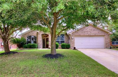 Pflugerville Single Family Home For Sale: 18509 Deep Water Dr