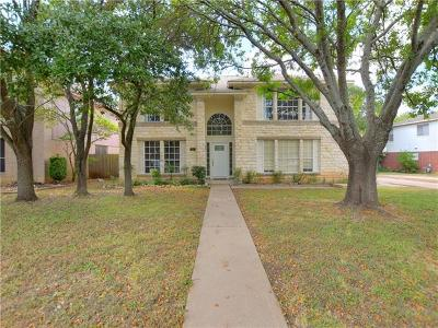 Round Rock Single Family Home For Sale: 8442 Fern Bluff Ave