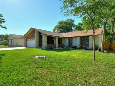 Cedar Park Single Family Home For Sale: 811 Timber Trl