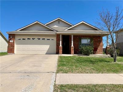 Killeen Single Family Home For Sale: 409 E Gemini Ln