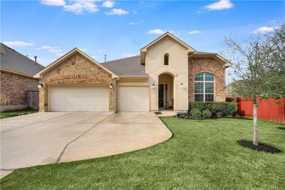 Leander Single Family Home Pending - Taking Backups: 2513 Hilltop Divide Ln