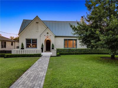 Austin Single Family Home For Sale: 1712 Hartford Rd