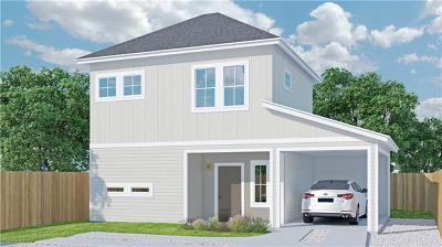 Austin Single Family Home For Sale: 3012 E 14 1/2 St #B