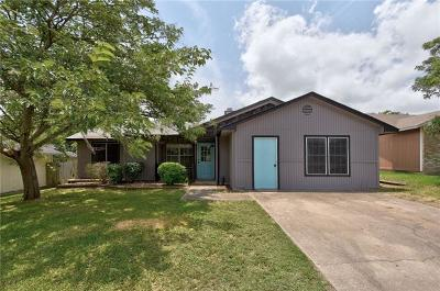 Pflugerville Single Family Home For Sale: 911 Edgerly Ln