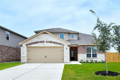 Manor Single Family Home For Sale: 13720 Charles W. Fairbanks Cv