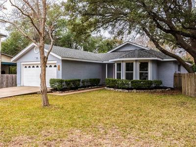 Cedar Park Single Family Home Pending - Taking Backups: 605 Prize Oaks Dr