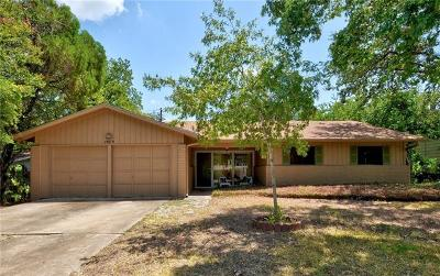 Austin Single Family Home For Sale: 1809 Sylvan Dr