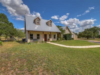 Marble Falls Single Family Home For Sale: 311 Leaning Tree