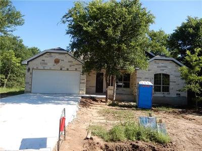 Bastrop Single Family Home Pending - Taking Backups: 120 W Kikipua Ln