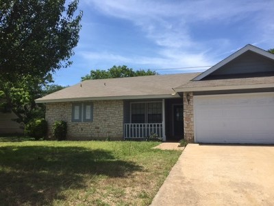 Round Rock Rental For Rent: 3108 Monument Dr