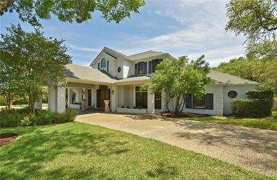 Single Family Home For Sale: 3301 Barton Creek Blvd