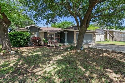 Cedar Park Single Family Home Pending - Taking Backups: 403 Winecup Trl S