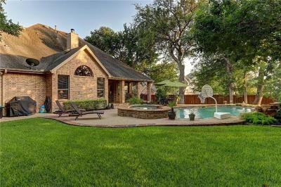 Round Rock Single Family Home Pending - Taking Backups: 1100 Native Garden Cv