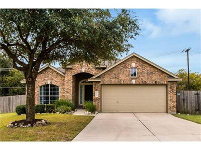 Round Rock Single Family Home For Sale: 8328 Campeche Bay Pl