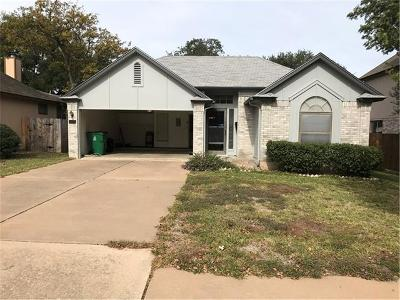 Cedar Park Single Family Home For Sale: 1205 Forest Oaks Path