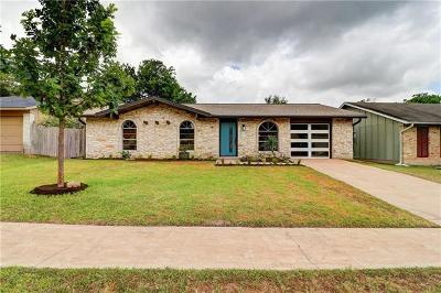 Travis County Single Family Home For Sale: 2509 Cockburn Dr