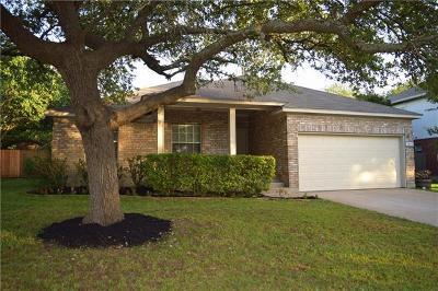 Cedar Park TX Single Family Home For Sale: $245,000