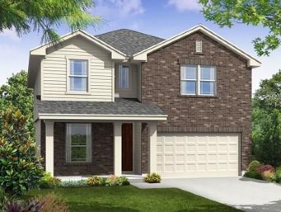 Kyle Single Family Home For Sale: 233 Evening Dusk Dr