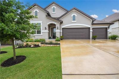 Leander Single Family Home For Sale: 3225 Venezia Vw
