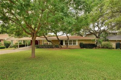 Hays County, Travis County, Williamson County Single Family Home For Sale: 5803 Trailridge Cir