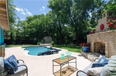 Round Rock Single Family Home For Sale: 608 Parkview Dr