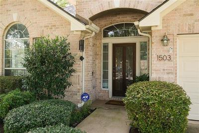 Cedar Park Single Family Home Pending - Taking Backups: 1503 Pagedale Dr