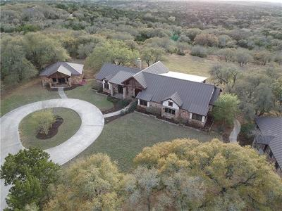 Dripping Springs Single Family Home For Sale: 225 High Point Trl