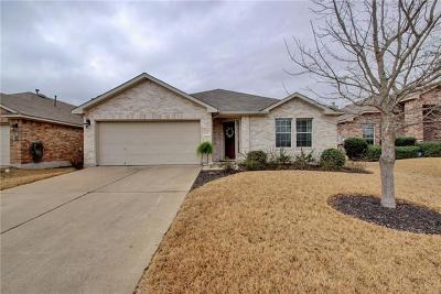 Pflugerville Single Family Home For Sale: 20605 Farm Pond Ln