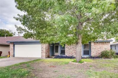 Round Rock Single Family Home For Sale: 1803 Frontier Trl
