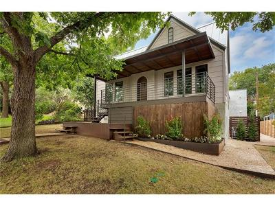 Travis Heights Single Family Home For Sale: 2002 Kenwood Ave