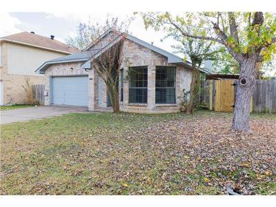 Travis County, Williamson County Single Family Home For Sale: 14201 Kincheloe St