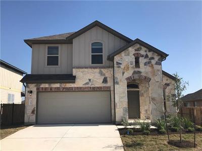Leander Single Family Home For Sale: 108 Beech Creek Ln
