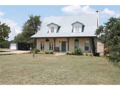 Liberty Hill Single Family Home For Sale: 151 N San Gabriel Loop