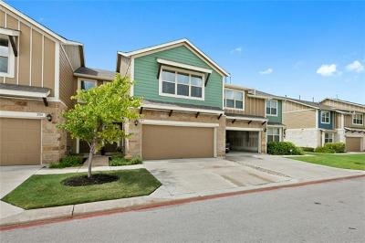 Round Rock TX Condo/Townhouse For Sale: $217,000