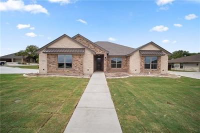 Nolanville Single Family Home For Sale: 3046 Heritage Loop