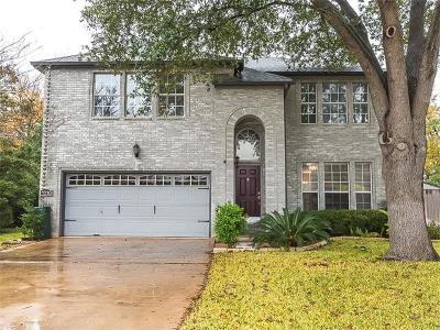 Cedar Park Single Family Home For Sale: 1210 Quail Cir