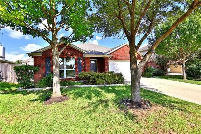 Round Rock Single Family Home For Sale: 513 Centerbrook Pl