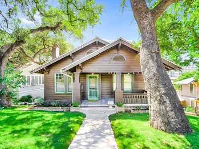 Austin Single Family Home For Sale: 701 Baylor St