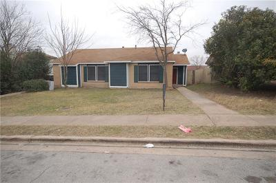 Pflugerville Condo/Townhouse Pending - Taking Backups: 1230 Orchard Park Cir