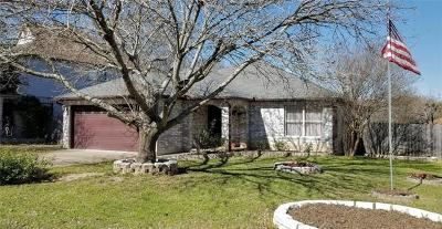 Cedar Park Single Family Home Pending - Taking Backups: 1033 Silverstone Ln