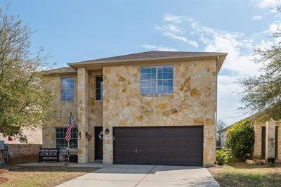 Leander Single Family Home For Sale: 809 Falcon