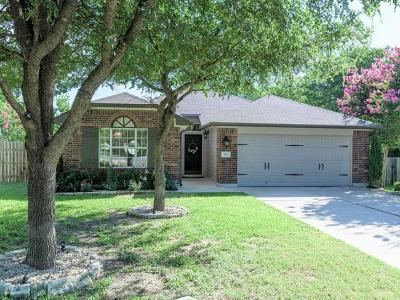 Cedar Park Single Family Home Pending - Taking Backups: 501 SW Columbine Ave