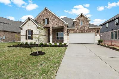 Pflugerville Single Family Home For Sale: 20645 Mouflon Dr