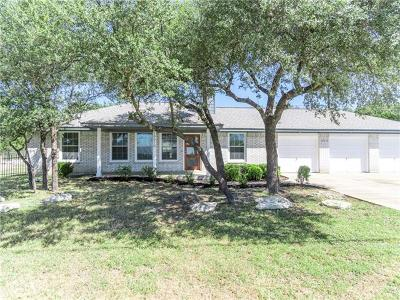 Lago Vista Single Family Home For Sale: 19910 Boggy Ford Rd